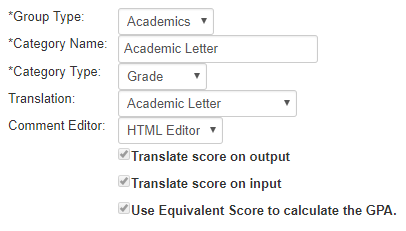 selecting this option will allow teachers to select alternate grades for students when they submit recorded grades at the end of a grading period