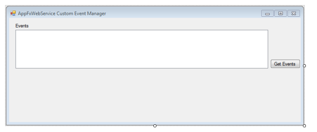 Example Consuming the Blackbaud AppFx Web Service using a